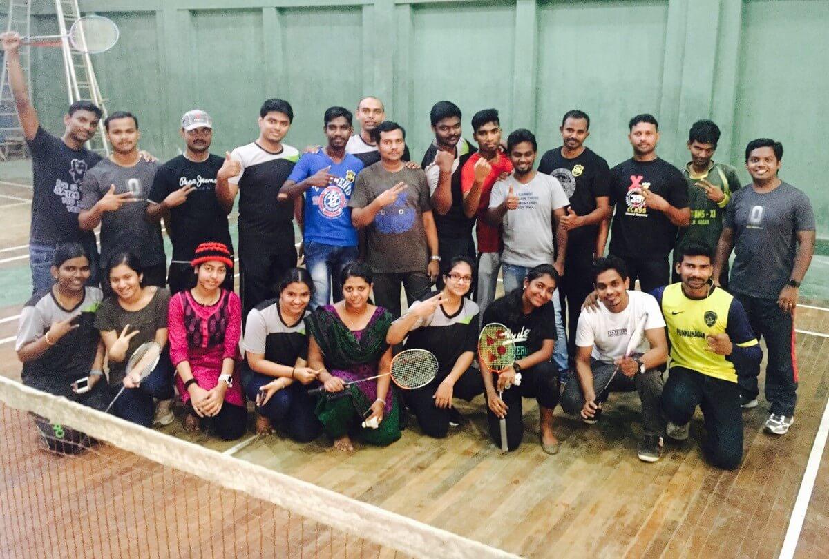 CS Badminton Tournament